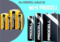 10x Batterie Duracell Pro INDUSTRIAL AA