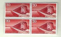 Timbres CH 1947 Zn. 279 Bloc **
