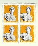 Timbres CH 1944 Zn. 259 bloc**