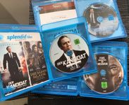 3 Blu-Ray Action Filme