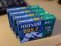 Original Maxell DSS-2 120m Cartrige/Tape