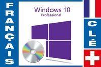 Windows 10 Professional français sur DVD