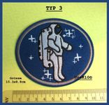 Flying Patch / Badge Airforce Astronaut