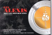 Medaille L'alexis  1998 stgl