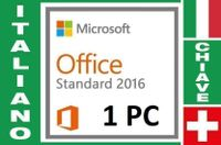 Office 2016 Standard (1 chiave)