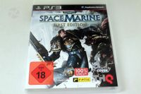 SPACE MARINE FIRST EDITION PS3 Warhammer