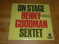 Do-LP ON STAGE with BENNY GOODMAN SEXTET