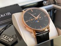 Montre Homme Moonphase Swiss Made NEUF