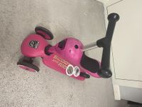 Trottinette scoot and Ride pink