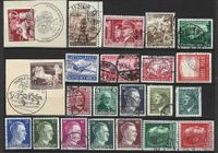 22 Timbres d'Allemagne