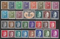 31 Timbres d'Allemagne