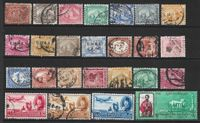 25 Timbres Anciens ( Egypte )
