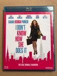 I don't know how she does it - Blu Ray