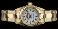 ROLEX LADY OYSTER PERPETUAL 18K GOLD