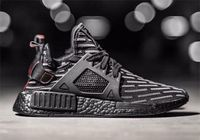 ADIDAS NMD XR1 TRIPLE BLACK RED LIMITED