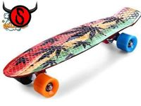 Retro Skateboard – Rasta