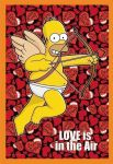 Simpsons Love is in the Air 50 Poster