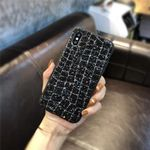 Bling  Cover Case Hülle iPhone X Schwarz