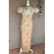 Robe doré chinoise Silk Collections