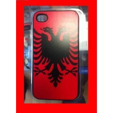 (NEW) iPhone 4 / 4S FLAG ALBANIEN ETUi-COVER NUR 14.90CHF !!