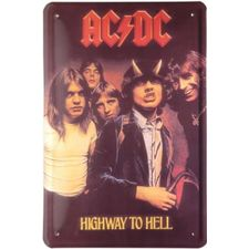 Blechschild-AC/DC-HIGHWAY TO HELL-20X30C