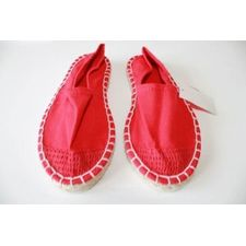 Chaussures ESPADRILLES rouges NEUF