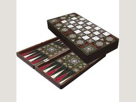 Orientalisches Luxus Tavla Backgammon
