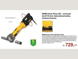 REMS Power Press SE Basic-Pack 220V