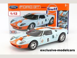 "FORD GT Concept ""Gulf"" #6  2004 1:12"