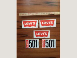 5 x LEVI'S LEVIS Jeans Stickers TOP +++