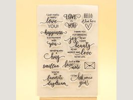 Clear Stamps - Silikonstempel