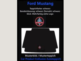 Ford Mustang LS Teppich 1-t 2015- Cabrio