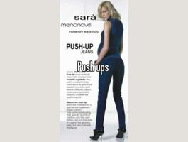 Jeans push-up future maman t. L - TAUPE