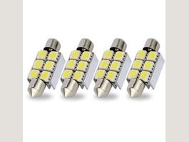 1x LED Innenbeleuchtung  6 SMD 39mm 5050