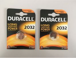 Duracell 2032 Knopfzelle (2x)