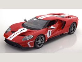 FORD GT #1 2017 rot/weiss 1:18 Maisto