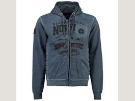 Geographical Norway Hoodie Sweatjacke Go