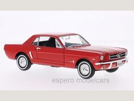 Ford Mustang Coupé 1964-1966 rot