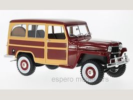 Jeep Willys Station Wagon 1954 dunkelrot