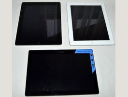 2 x Apple Ipad, Lenovo Tab2