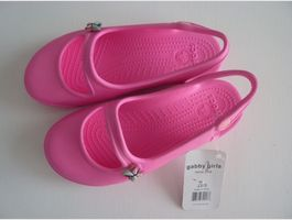 Crocs Gabby Girls Gr. 34-35 Neon Pink