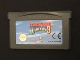 GBA Spiel - Donkey Kong Country 3