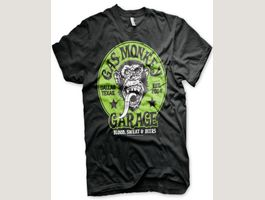 GAS MONKEY GARAGE - GREEN LOGO T-SHIRT