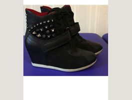 Sergio rossi ankle wedge