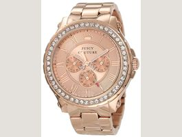 Juicy Couture Rose-Gold Plated Watch
