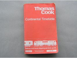 THOMAS COOK Continental Timetable