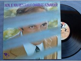 Charles Aznavour,  Non je n'ai rien oub.