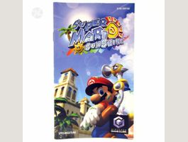 SUPER MARIO SUNSHINE Manual DE