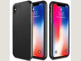 Carbon Design iPhone XS Silikon Cover