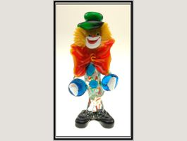 Grosser Murano Glas Clown